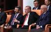 Erdoğan yaşananlar rezalet diyerek terketti