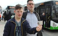 Otobüs şöföründen çirkin tavır