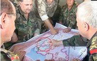 Esad'ın Genelkurmay'ından skandal harita