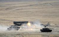 Afrin'deki terör yuvaları vuruldu