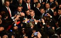 Erdoğan'dan çok sert sözler