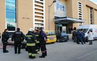 PTT merkezinde patlama
