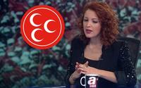 MHP'den Nagehan Alçı'ya  Atatürk tepkisi:  Küçücük beyni daracık...