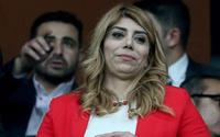 Kayserispor'un kadın başkanı, Süper Lig tarihinde bir ilki gerçekleştirdi