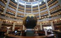 Erdoğan'ın, açılışını yapacağı Millet Kütüphanesi'ndeki 16 sütun bakın ne anlama geliyor...
