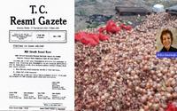 12 Eylül yönetimi soğanın depolarda çürümemesi için hangi kararı çıkarmış…