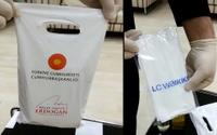 Yardım paketinde Erdoğan reklamı