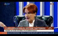 Akşener'den Erdoğan'a: Başıma silah dayasalar..
