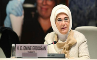 Emine Erdoğan'dan Fıtrat'lı kadın mesajı