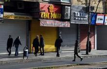 Diyarbakır'da esnaf kepenk açmadı