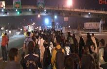 Suriyeliler Edirne'ye doğru yürüyüşe geçti