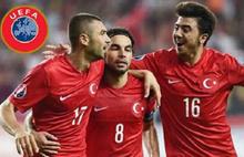 UEFA'dan şok  Türkiye kararı!
