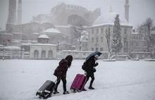 İstanbul'da kar kalınlığı 50 cm oldu!