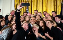 Obama'nın 2015'ten çok özel fotoğrafları