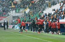Bursaspor Kupaya veda etti