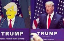 Simpsons'ların Trump kehaneti