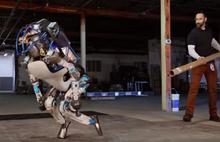 Robota kötü davranış tepki çekti