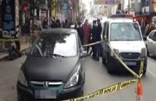 Bakırköy'de bombalı araç alarmı