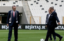Arena'da ilk santra Cumhurbaşkanı Erdoğan'dan