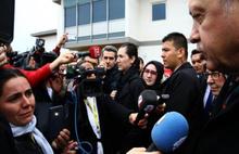 Erdoğan Maryland camisinde Kuran okudu
