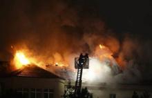 Ankara Numune Hastanesi'nde korkutan yangın