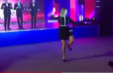 Rus Dışişleri Bakanlığı Sözcüsü Mariya Zaharova dans pistini salladı