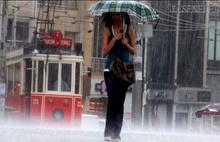 İstanbul ferahlıyor: Yağış geliyor