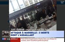 Fransa'da panik! Saldırgan öldürüldü