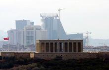 Anıtkabir'in silüeti de tartışma yarattı