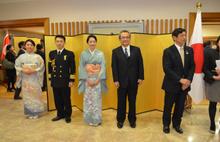 Japon İmparatoru'nun yıldönümü Ankara'da da kutlandı