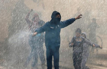 Filistinliler gösterilere başladı