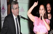 Başkan: Krizi Sertab Erener çıkardı