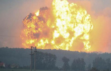 Ukrayna'da çok büyük patlama