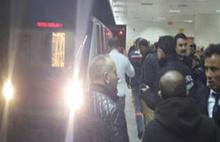 Ankara metrosunda dehşet anları