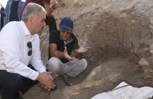 Kayseri'de 2 metrelik fil kafatası bulundu