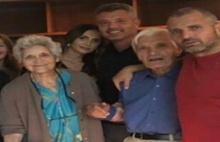 O aşk aile fotoğrafına girdi