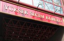 YSK'dan seçim için üç yeni karar