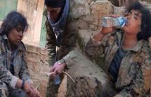 Afrin'de teröristlere insanlık dersi