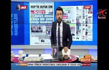 Televizyondaki skandal sözlere suç duyurusu