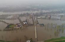 Sel felaket getirdi nehirler taştı