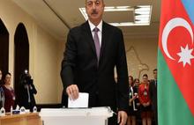 Aliyev 4'üncü kez cumhurbaşkanı