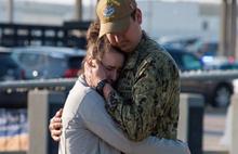 ABD askerleri savaşa gözyaşlarıyla uğurlandı