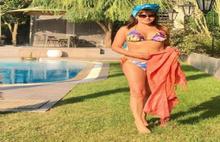 55'lik ünlünün bikinili pozu şaşırttı