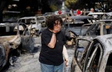 Yunanistan'daki yangın faciasının acı bilançosu büyüyor