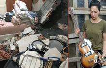 Genç oyuncunun evi başına yıkıldı