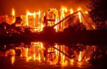 Yunanistan'dan sonra ABD de yanıyor