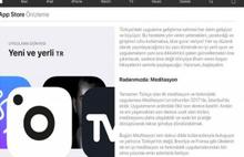 App Store'da Türkiye'ye özel bölüm