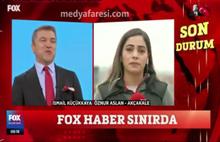 FOX Muhabiri Öznur Aslan o soruda gözyaşlarını tutamadı