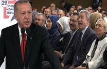 Erdoğan partisinin adını karıştırdı,Akar düzeltti