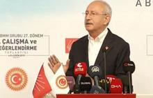 Kılıçdaroğlu: Konuşmamı malum zat da dinlesin diye yarıda kestim